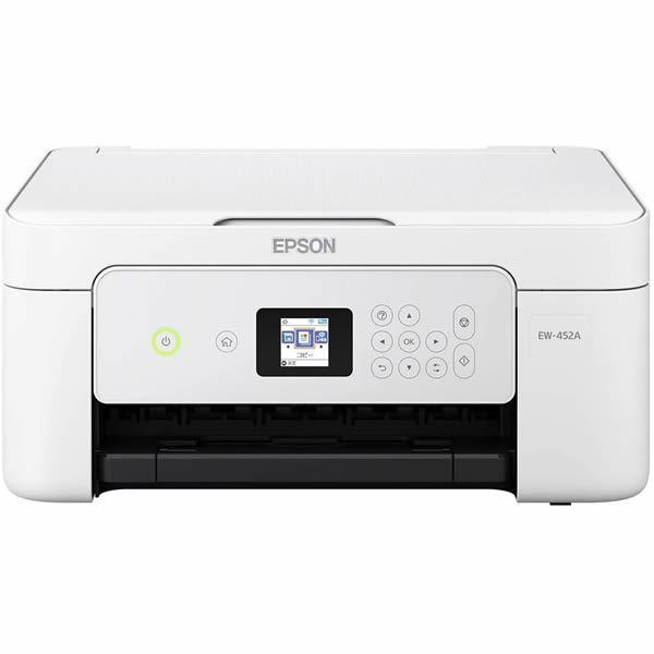 エプソン Colorio プリンター複合機 4色独立インクジェット W-LAN H-USB スキャナー 新品 プリンター コピー EW-452A A4 海外