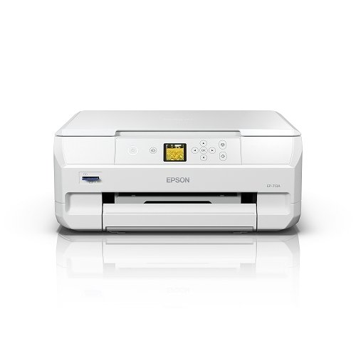 エプソン Colorio A4カラーインクジェット複合機 送料無料新品 6色 1.44型 EP-713A 無線LAN 至上