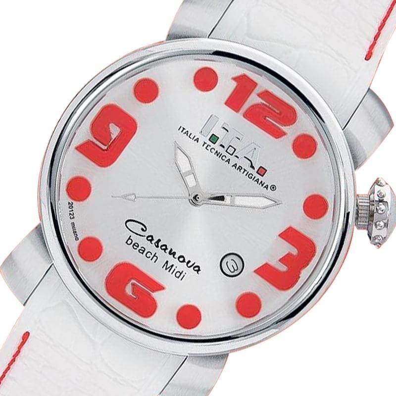 期間限定特別価格 I.T.A.(アイティーエー)/カサノバ・ビーチ ミディ/レッド/ 19.03.14 腕時計[正規輸入品], カーテン天国 1ac9c5e5