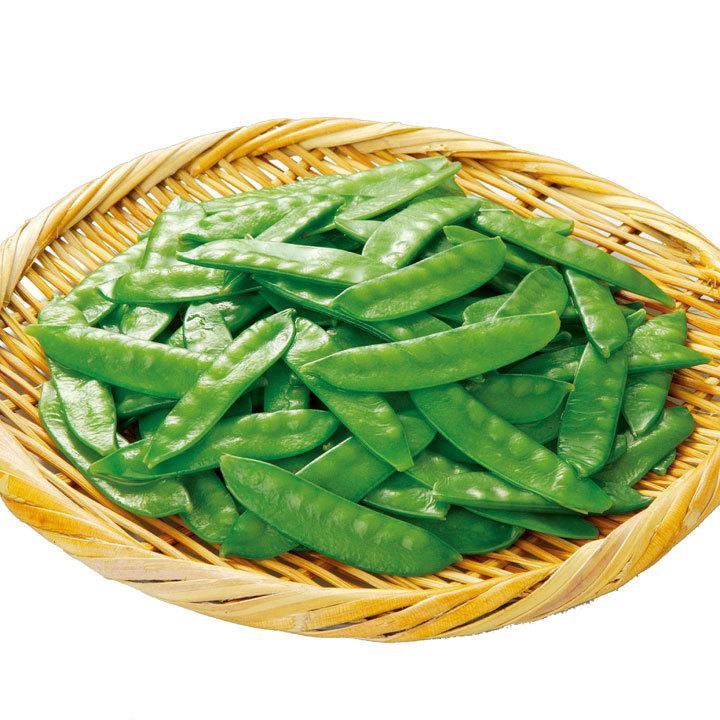 冷凍食品 業務用 カンタン菜園 きぬさや500g (約250〜350個入) 12621 弁当 簡単 時短 冷凍野菜 絹さや キヌサヤ|syokusai-netcom