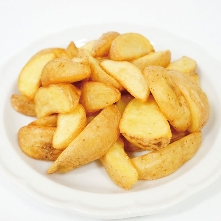 冷凍食品 保証 業務用 日本製 ベルギー産 フライドポテト ナチュラルカット 1kg 8分の1カット じゃがいも ポテトフライ 弁当 一品 ポテト 12784 揚物