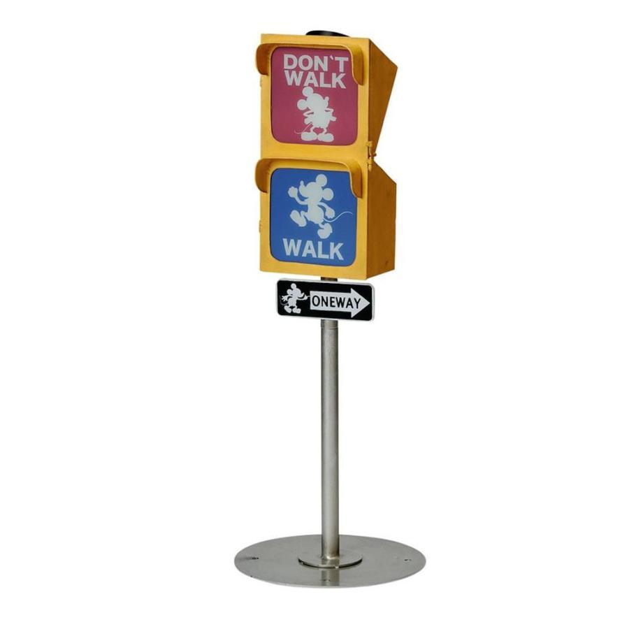 送料無料 セトクラフト 信号ソーラーライト(ヴィンテージミッキー) SD-6145-2200
