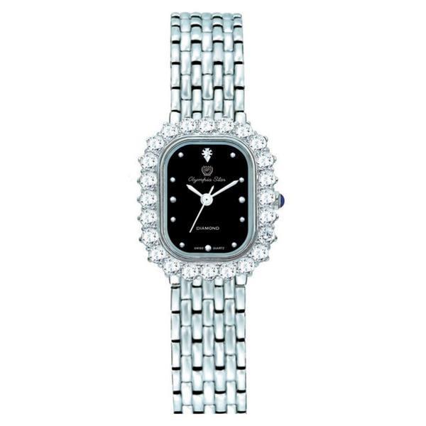 名作 送料無料 OLYMPIA STAR(オリンピア スター) レディース 腕時計 OP-28015DLS-1, 筑穂町 3a1d4b10
