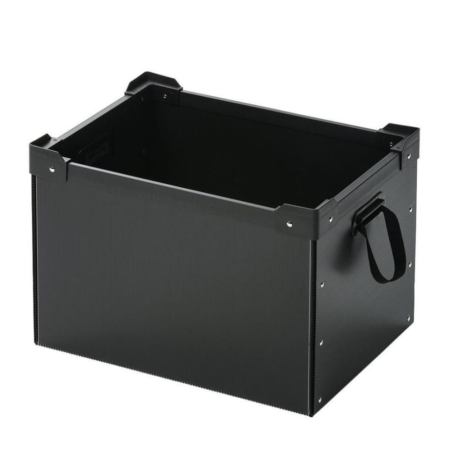 送料無料 送料無料 サンワサプライ プラダン製マルチ収納ケース PD-BOX4BK