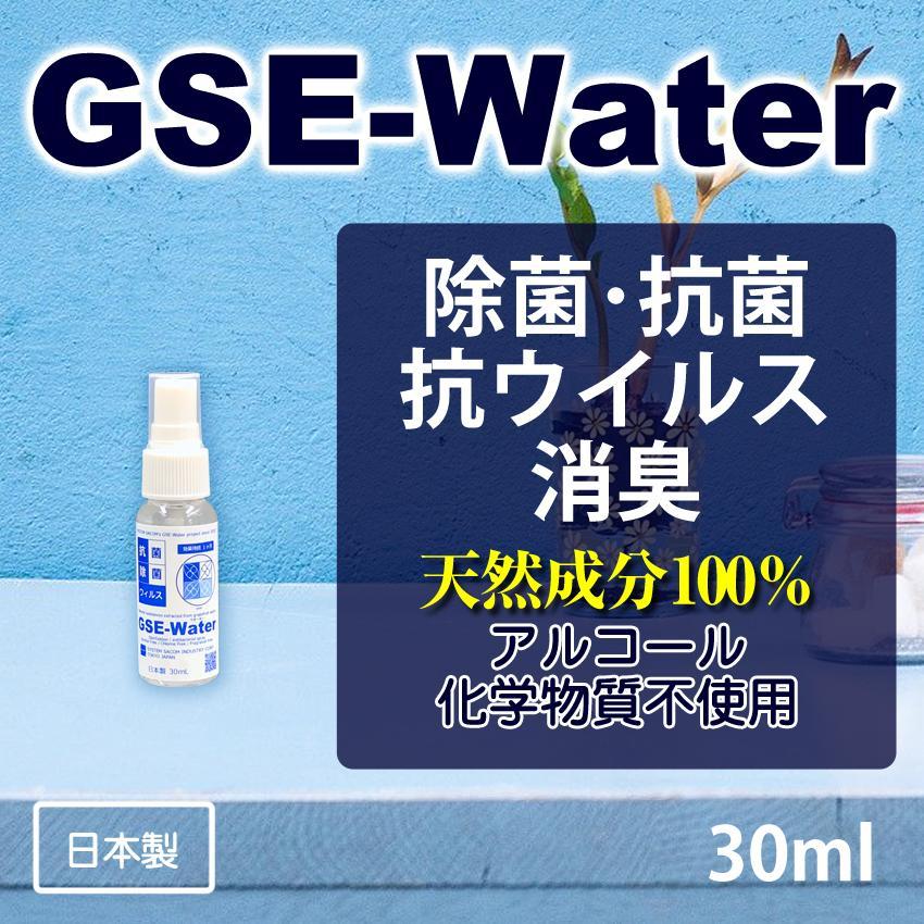 除菌・抗菌・抗ウイルス・抗カビ・消臭 スプレー [GSE-Water] 30ml (GSE-203) アルコール・化学物質不使用|systemsacom
