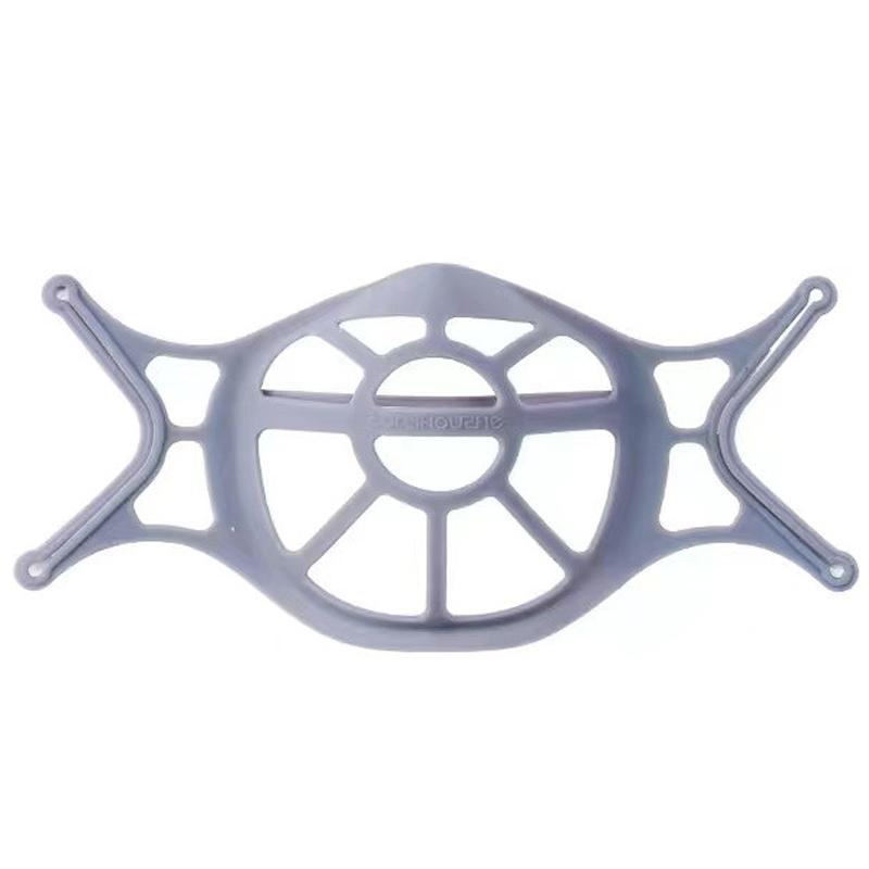 マスクインナー グレー 1枚入 シリコン マスクインナーフレーム スペーサー ブラケット 灰色|systemsacom|02