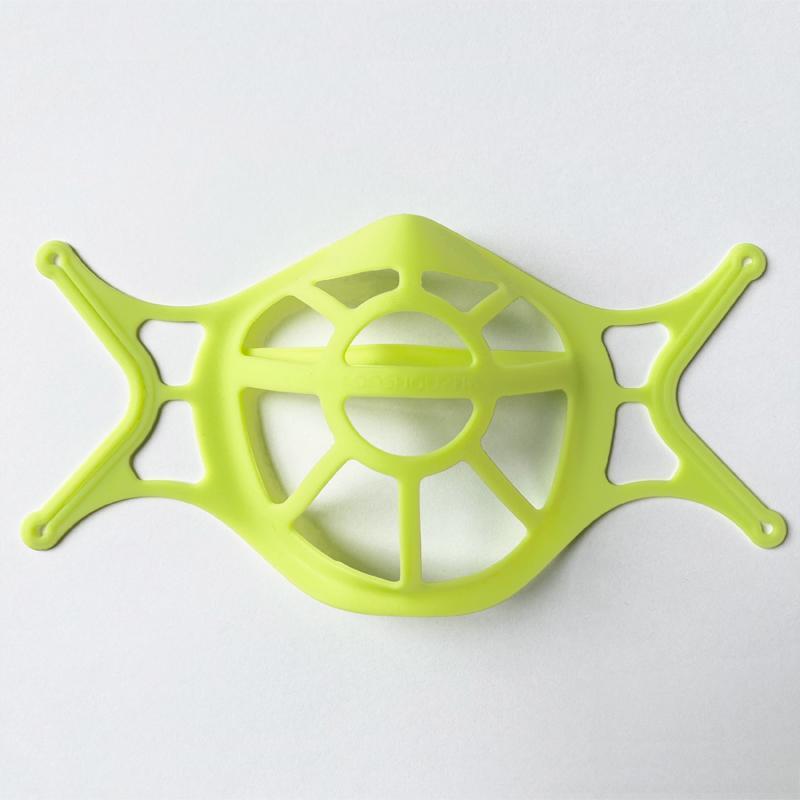 マスクインナー グリーン 1枚入 シリコン マスクインナーフレーム スペーサー ブラケット 黄緑 蛍光 緑 イエローグリーン systemsacom 02
