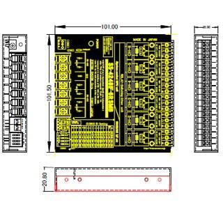 SS-4248IF-6RSMB RS422/RS485リレースイッチユニット[独立6ch] ID設定可能[(A)接点/(B)接点 両用タイプ]|systemsacom|04