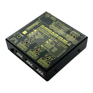 SS-4W485i-RLSW-3PS-ADP 4線式RS485リレースイッチユニット[独立3ch]【絶縁タイプ】(ACアダプタ仕様) systemsacom