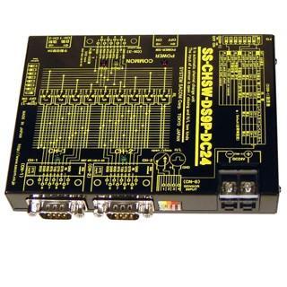 SS-CHSW-DS9P-DC24 Dsub9p 2ch切換ユニット(DC24V仕様) systemsacom 03