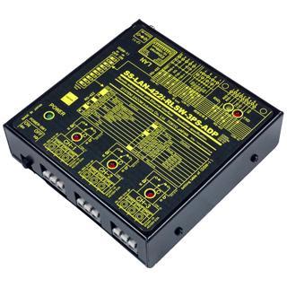 SS-LAN-422i-RLSW-3PS-ADP LAN(Ethernet)/RS422リレースイッチユニット[独立3ch]【絶縁タイプ】(ACアダプタ仕様)|systemsacom