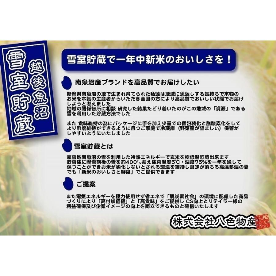 新米 雪室貯蔵米 令和3年産 ひらくの里ファームさんの南魚沼産新之助 慣行栽培米 精米2kg 送料無料(本州)新潟産 米 syugyokunoippin 07