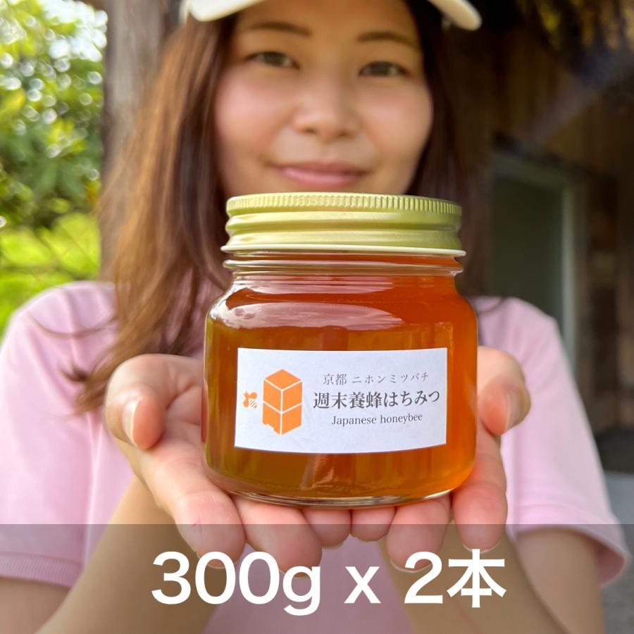 ニホンミツバチの幻のハチミツ 【300g × 2本】