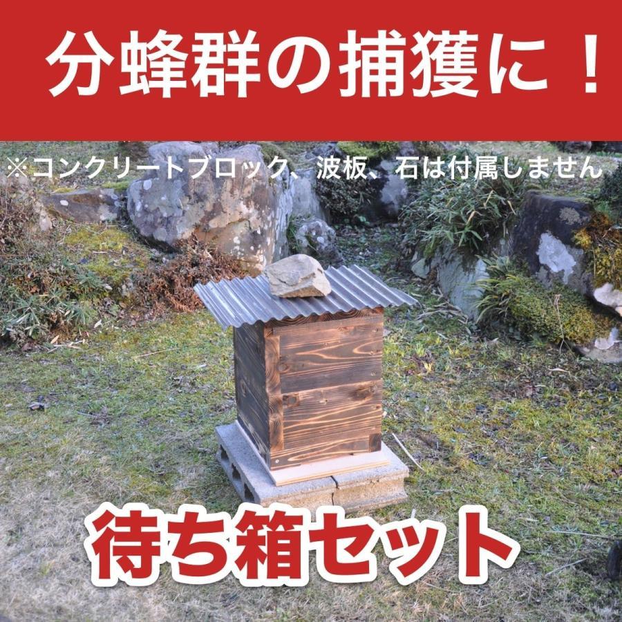 待ち箱セット (2段重箱式巣箱)