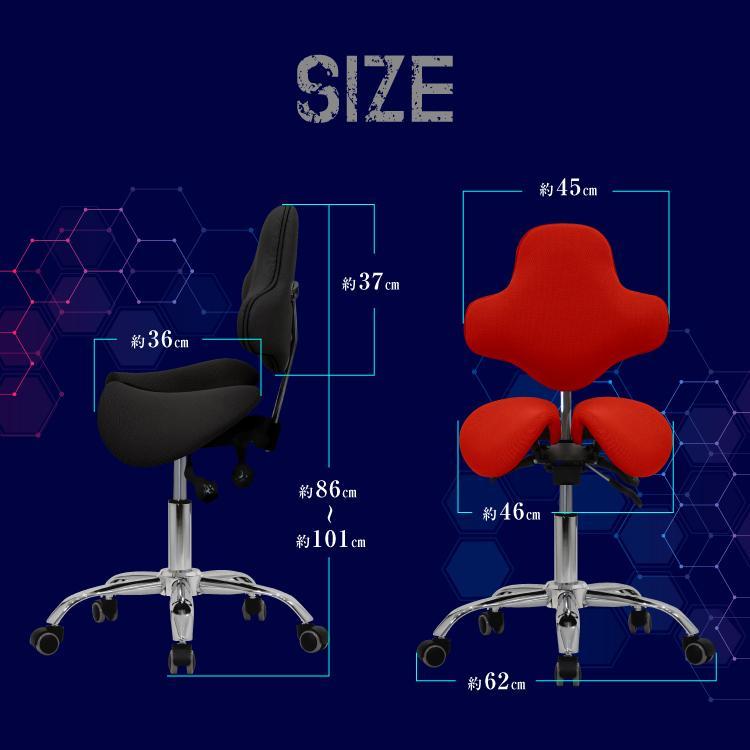 STRASSE GAMING LAB 腰痛対策チェア 椅子 ゲーミングチェア オフィスチェア パソコンチェア [ハンコン ストラッセ]|syumicolle|12