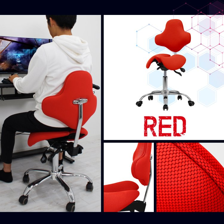 STRASSE GAMING LAB 腰痛対策チェア 椅子 ゲーミングチェア オフィスチェア パソコンチェア [ハンコン ストラッセ]|syumicolle|15