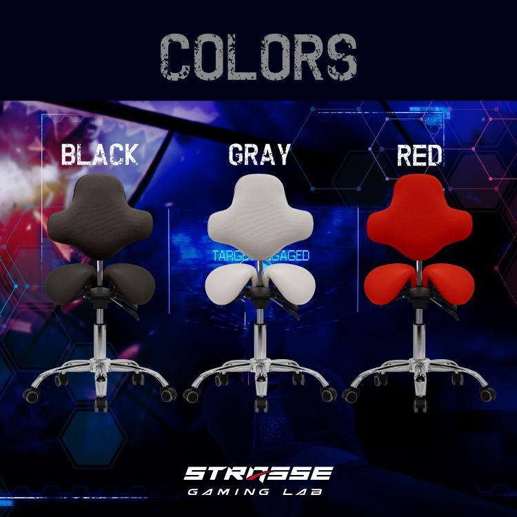 STRASSE GAMING LAB 腰痛対策チェア 椅子 ゲーミングチェア オフィスチェア パソコンチェア [ハンコン ストラッセ]|syumicolle|16