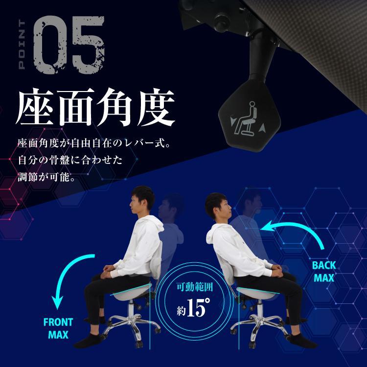 STRASSE GAMING LAB 腰痛対策チェア 椅子 ゲーミングチェア オフィスチェア パソコンチェア [ハンコン ストラッセ]|syumicolle|09