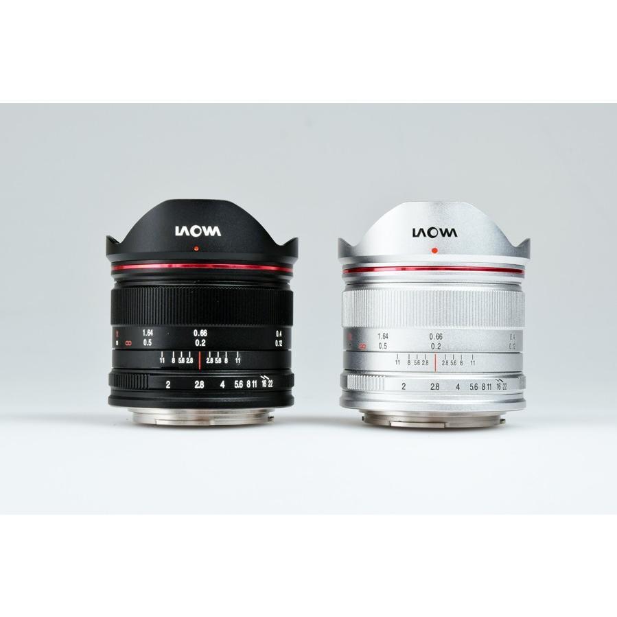 Laowa 7.5mm F/2 MFT Light Weight Version  BK/SV マイクロフォーサーズ専用【サイトロンジャパン直販店限定!】 ※在庫お問い合わせ下さい