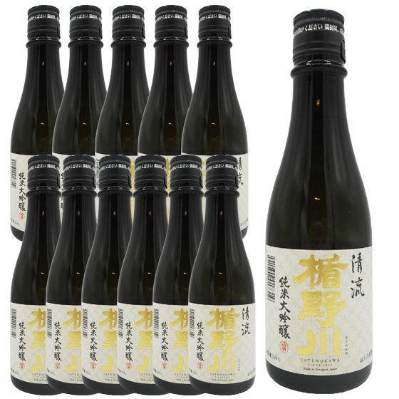 父の日 プレゼント 日本酒 楯野川 純米大吟醸 清流 300ml 12本セット|syurakushop