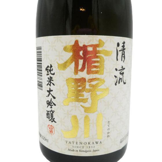 父の日 プレゼント 日本酒 楯野川 純米大吟醸 清流 300ml 12本セット|syurakushop|03