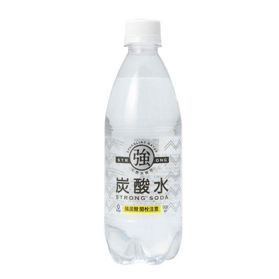 母の日 ギフト 友桝飲料 強炭酸水 500ml 24本 ペットボトル 佐賀県 炭酸水 ケース販売|syurakushop|02