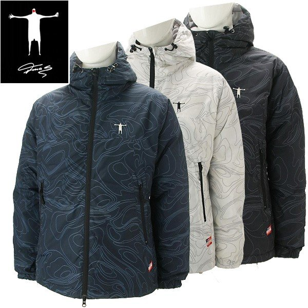 ティーマック メンズ ゴルフウェア 長袖ダウンジャケット J63 T-MAC 秋冬