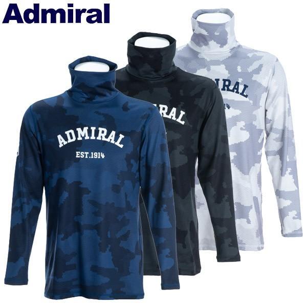 アドミラル ゴルフウェア メンズ タートルネックシャツ ADMA9B4 2019秋冬