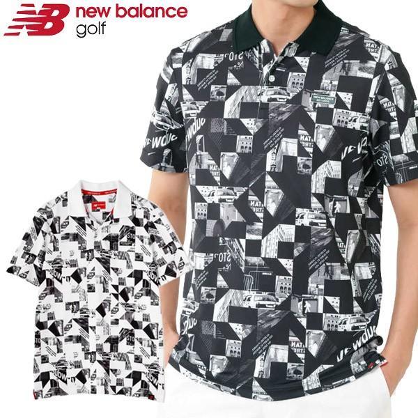 メール便対応 ニューバランス ゴルフウェア メンズ ポロシャツ 012-9160007