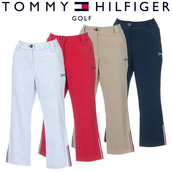 トミーヒルフィガー ゴルフウェア レディース クロップドパンツ THLA931