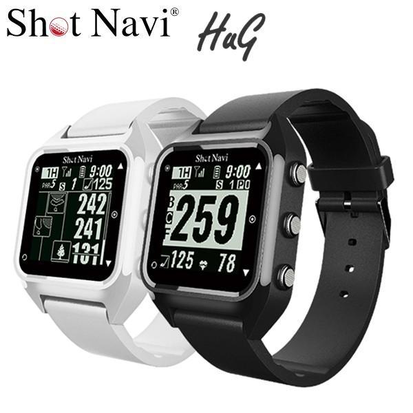 【正規品】 ショットナビ ハグ HUG GPSゴルフナビ 腕時計型, アカギムラ a4958fdf