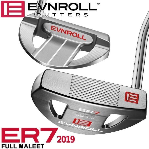 イーブンロール パター ER7 2019 フルマレット EVNROLL ベストオブベストパター 日本正規品