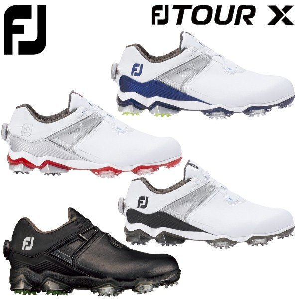 値頃 フットジョイ ゴルフ FJ ツアー X ボア ゴルフシューズ メンズ Boa ソフトスパイク 2020モデル, のり子の部屋 79565212