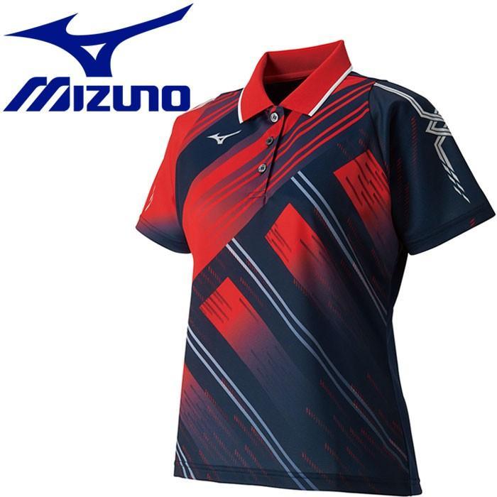 メール便対応 ミズノ ゲームシャツ レディース 62JA820162