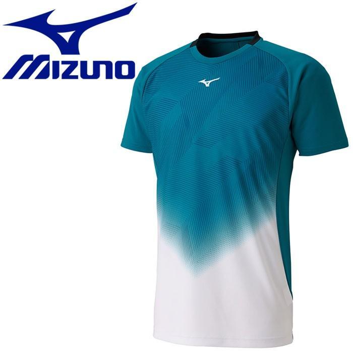 メール便対応 ミズノ テニス ゲームシャツ メンズ レディース 62JA950873