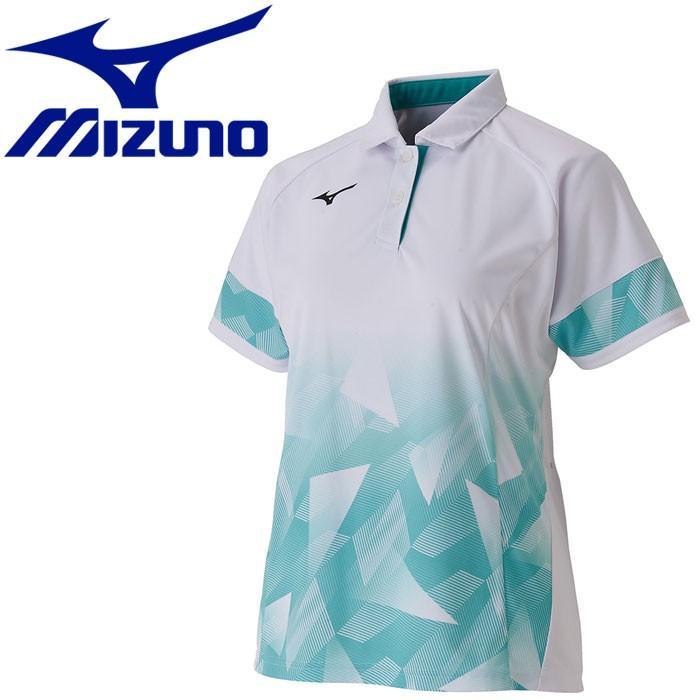 メール便対応 ミズノ テニス ゲームシャツ レディース 62JA970601