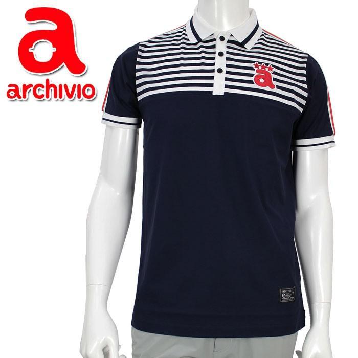 メール便対応 アルチビオ archivio ゴルフ ポロシャツ 半袖 A869301 メンズ