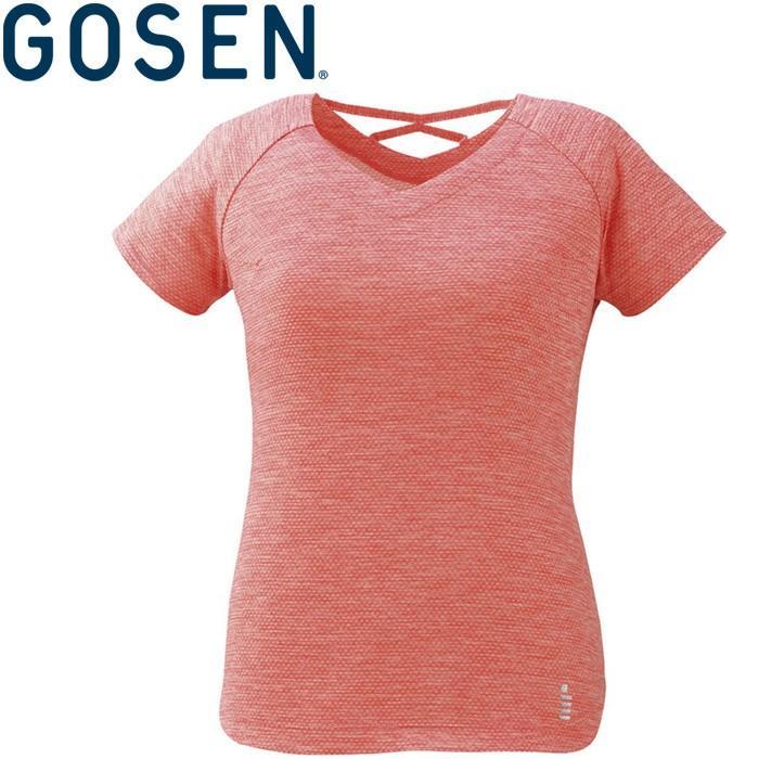 メール便対応 ゴーセン テニス ゲームシャツ レディース GOS-T1927-87