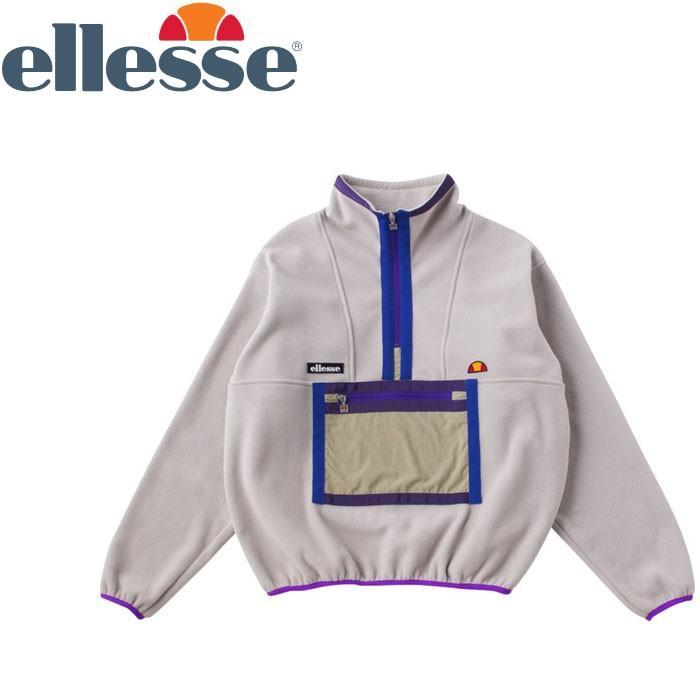 エレッセ テニス フリースプルオーバー メンズ レディース EH78303-LG