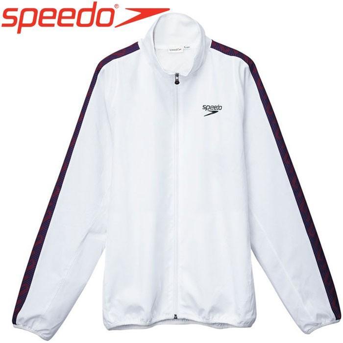 スピード 水泳 モノグラムウインドジャケット メンズ SD12F10-W