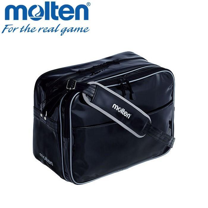 モルテン エナメルバッグ Lサイズ 黒 KM0074-K