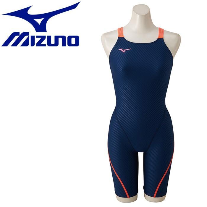 ミズノ 水泳 エクサースーツ ハーフスーツ 水着 レディース N2MG827114 返品不可