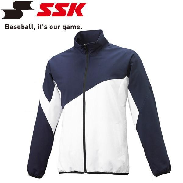エスエスケイ SSK 野球 クロストレーニング 長袖フルZIP BWC1903-7010