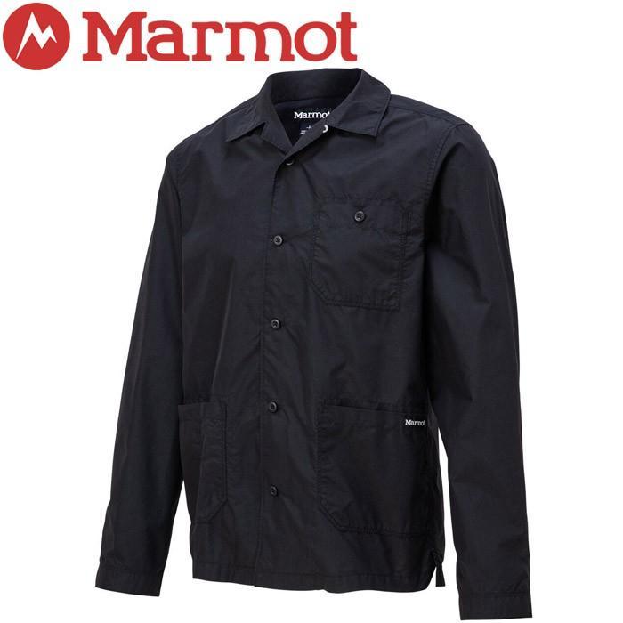 マーモット NC Cargo L/S Shirt エヌシーカーゴロングスリーブシャツ メンズ TOMOJB79-BK