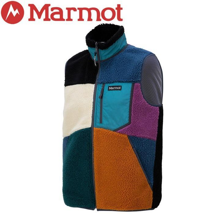 マーモット Sheep Fleece Vest シープフリースベスト メンズ TOMOJL39-ML