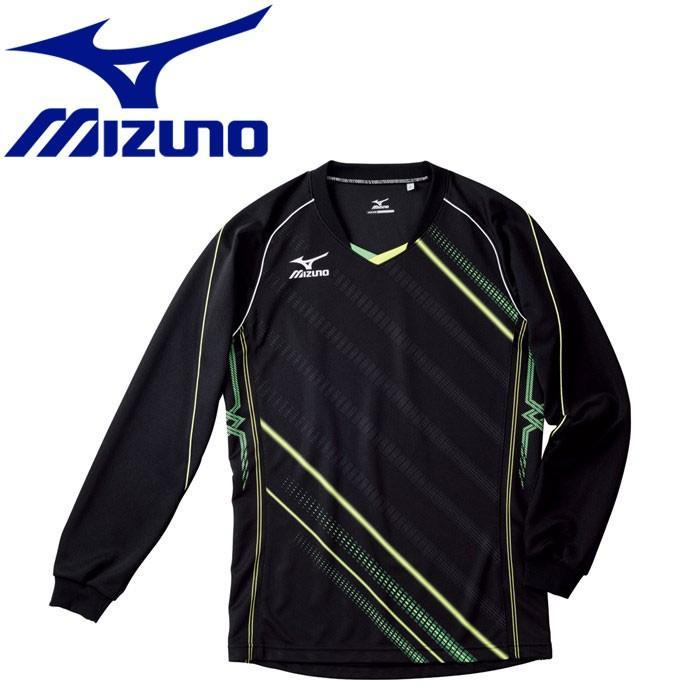 メール便対応 ミズノ バレーボール ゲームシャツ 長袖 メンズ レディース V2MA502093