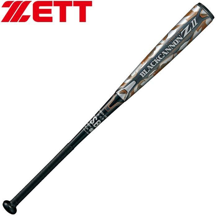 最新な ゼット 一般軟式FRP製バット BLACKCANNON Z ブラックキャノン Z ミドルバランスタイプ BCT35924-1900, シモカワチョウ d2625485