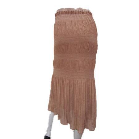 C'EST MOIJEU セモアージュ / ランダムプリーツ ニット使いスカート  t-blueberry 04