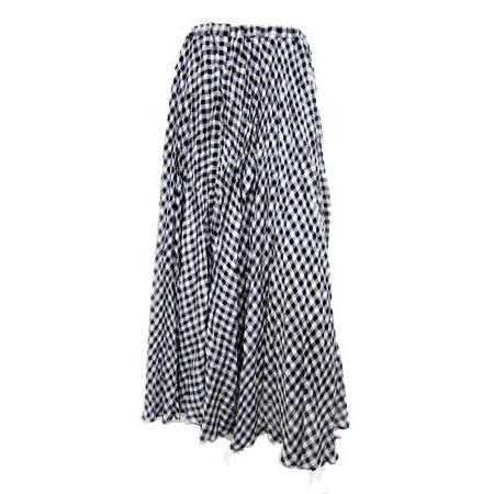 C'EST MOIJEU セモアージュ / チェックランダムプリーツスカート |t-blueberry|02