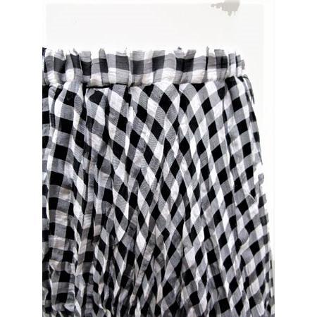 C'EST MOIJEU セモアージュ / チェックランダムプリーツスカート |t-blueberry|05